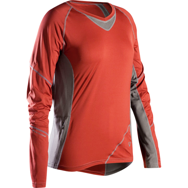 Bontrager Rhythm Elite Ladies Long Sleeve Jersey Maroon
